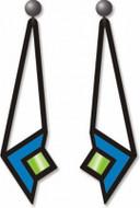 Ceiling Light Earrings  - Frank Lloyd Wright - Photo Museum Store Company
