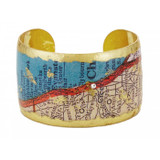 Chicago Map Cuff - Museum Jewelry - Museum Company Photo