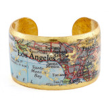 Los Angeles Map Cuff - Museum Jewelry - Museum Company Photo