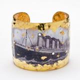 Titanic Scrimshaw Cuff - Museum Jewelry - Museum Company Photo