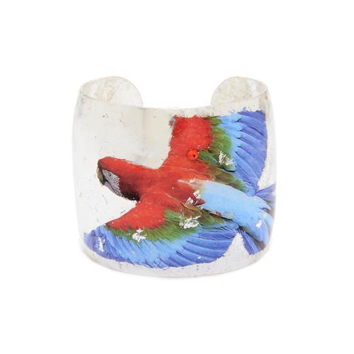 Macaw Cuff - Silver - Museum Jewelry - Museum Company Photo