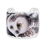 Snowy Owl Cuff - Museum Jewelry - Museum Company Photo