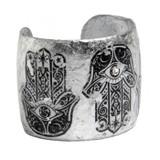 Hamsa Cuff - Silver - Museum Jewelry - Museum Company Photo