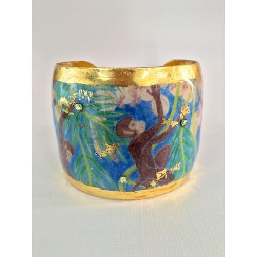 Mischievous Monkeys Cuff - Museum Jewelry - Museum Company Photo