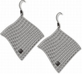 Diamond Armchair Earrings - Photo Museum Store Company