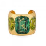 Emerald & Peridot Cuff - Museum Jewelry - Museum Company Photo