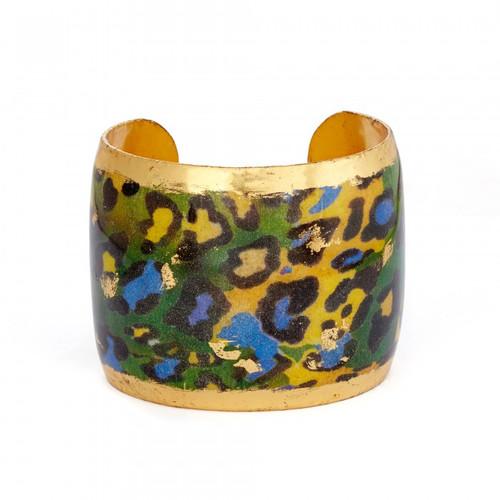 Green Leopard Cuff - Museum Jewelry - Museum Company Photo