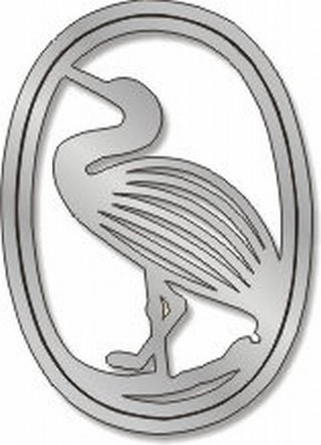 Egret Pin - Photo Museum Store Company