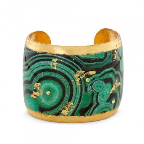 Malachite Cuff - Museum Jewelry - Museum Company Photo