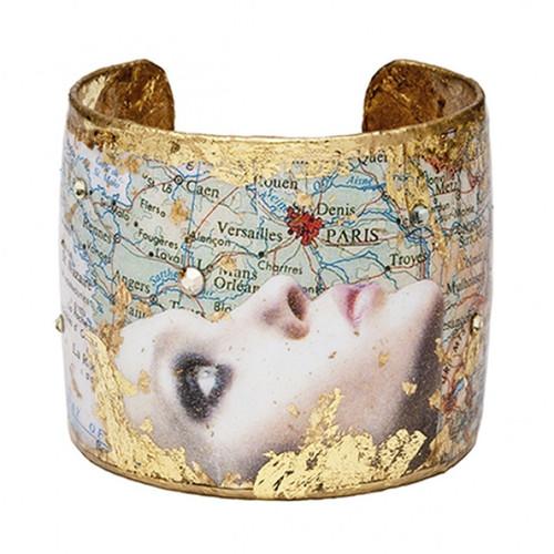 Evocative Travels Paris Cuff - Gold - Museum Jewelry - Museum Company Photo