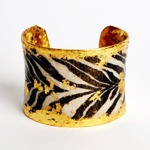Zebra Corset Cuff - Museum Jewelry - Museum Company Photo