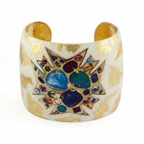 Bejeweled Cream Cuff - Museum Jewelry - Museum Company Photo