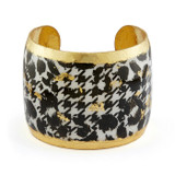 Houndstooth Cuff - Museum Jewelry - Museum Company Photo