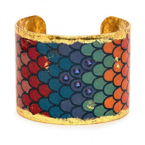Rainbow Scales Cuff - Museum Jewelry - Museum Company Photo