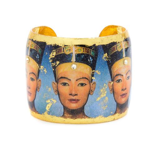 Nefertiti Cuff - Museum Jewelry - Museum Company Photo