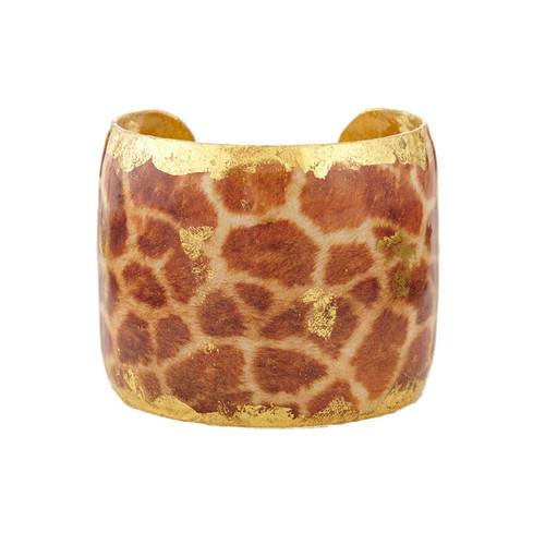 Giraffe Print Cuff - Museum Jewelry - Museum Company Photo
