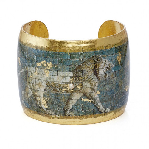 Babylonian Lion Cuff - Museum Jewelry - Museum Company Photo