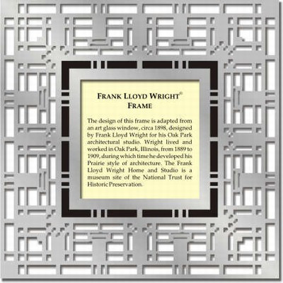 Frank Lloyd Wright Oak Park Frame Museum Store Company Gifts