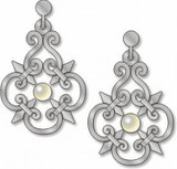Grill Work Earrings - Guggenheim House, Italy - Photo Museum Store Company