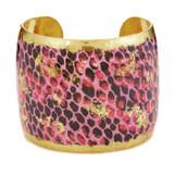 Snakeskin Pink Cuff - Museum Jewelry - Museum Company Photo