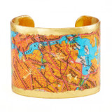 Brooklyn Queens Map Cuff - Museum Jewelry - Museum Company Photo