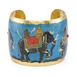 Raj Elephant Cuff - Museum Jewelry - Museum Company Photo