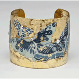 Blue Metropolitan Butterfly Cuff - Museum Jewelry - Museum Company Photo
