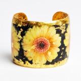 Yellow Gerber Daisy Cuff - Museum Jewelry - Museum Company Photo