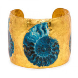 Fossil Blue Cuff - Museum Jewelry - Museum Company Photo