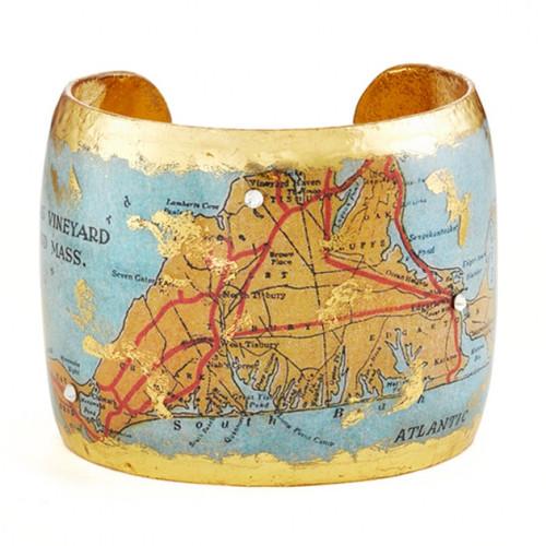 Martha's Vineyard Map Cuff - Museum Jewelry - Museum Company Photo