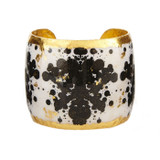 Rorschach Black & White Cuff - Museum Jewelry - Museum Company Photo
