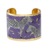 Zebra Dreams Cuff - Purple - Museum Jewelry - Museum Company Photo