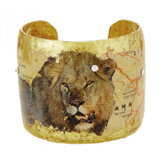 Botswana Lion Cuff - Museum Jewelry - Museum Company Photo