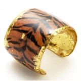 Tiger Print Cuff - Museum Jewelry - Museum Company Photo