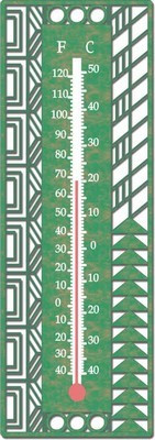 May Basket Thermometer - Frank Lloyd Wright - Photo Museum Store Company