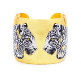 Two Leopards Cuff - Museum Jewelry - Museum Company Photo