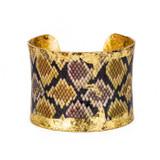 Python Brown/Yellow Cuff - Museum Jewelry - Museum Company Photo