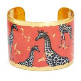 Giraffe Dreams Cuff - Orange - Museum Jewelry - Museum Company Photo