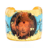 Buddha Blue Cuff - Museum Jewelry - Museum Company Photo