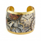 Time After Time Cuff - 2 inch - Museum Jewelry - Museum Company Photo