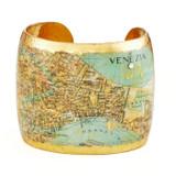 Venice, Italy Map Cuff - Museum Jewelry - Museum Company Photo