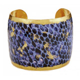 Snakeskin Violet Cuff - Museum Jewelry - Museum Company Photo