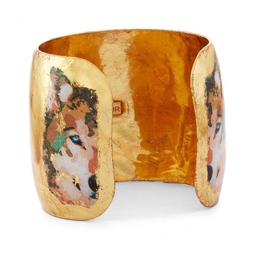 Alaska Wolf Cuff - Museum Jewelry - Museum Company Photo