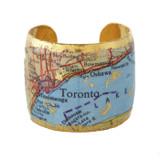 Toronto Map Cuff - Museum Jewelry - Museum Company Photo