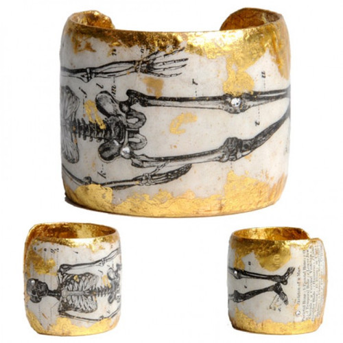 1895 Skeleton Cuff - Gold - Museum Jewelry - Museum Company Photo