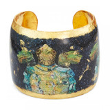 Caribbean Sea Turtle Cuff - Museum Jewelry - Museum Company Photo