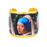 Girl with a Pearl Earring Cuff - Museum Jewelry - Museum Company Photo