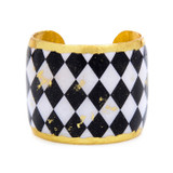 B&W Harlequin Cuff - Museum Jewelry - Museum Company Photo