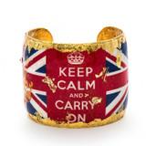 Keep Calm Cuff - Museum Jewelry - Museum Company Photo