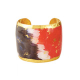 Black, White & Red  Butterfly Wing Cuff - Museum Jewelry - Museum Company Photo